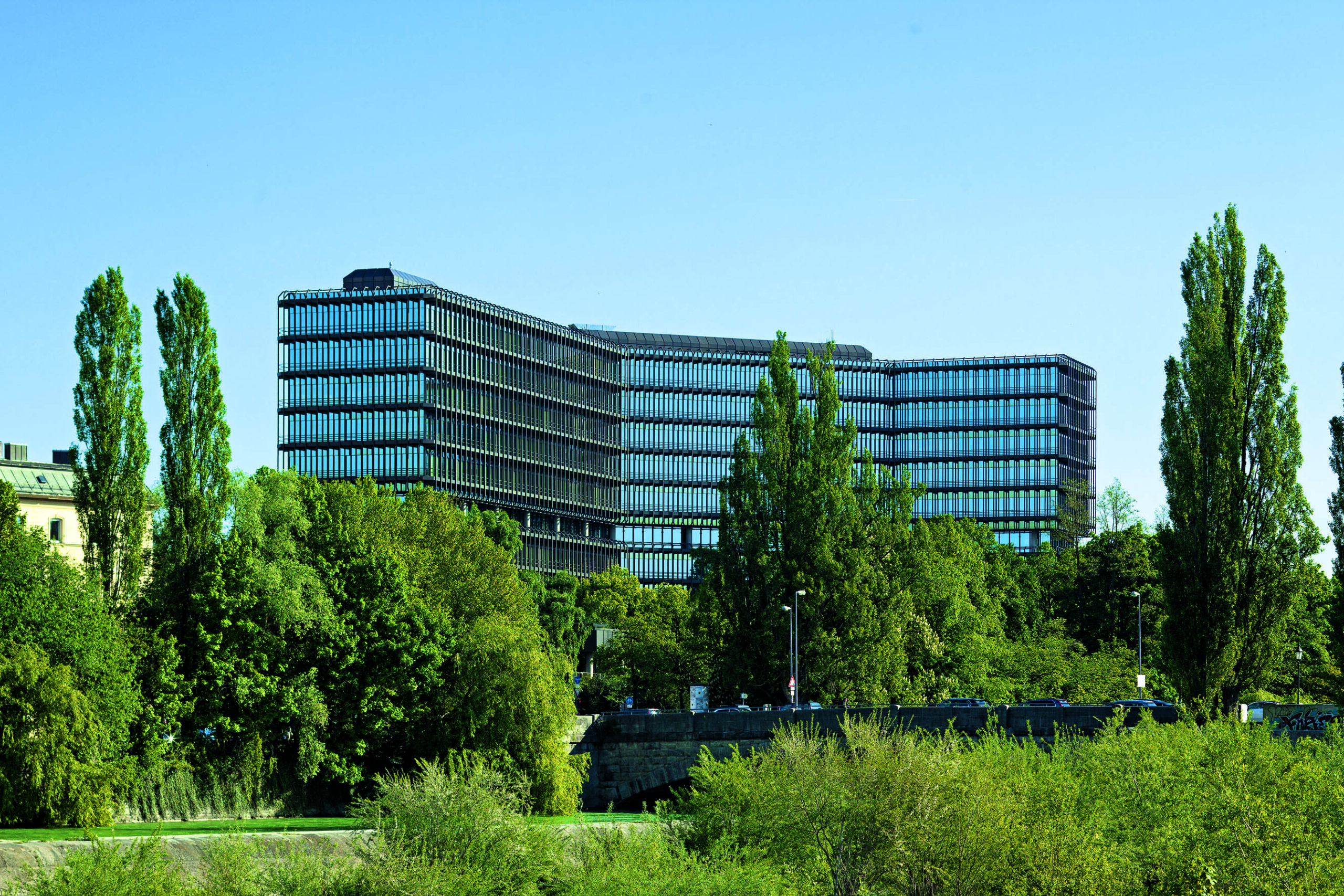 The headquarters of the European Patent Office in Munich